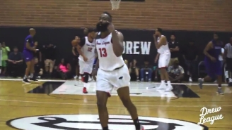 James Harden Torched Opponents At The Drew League Over The Weekend