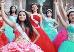 Texas Teens Don Quinceañera Dresses To Protest Sanctuary City Ban
