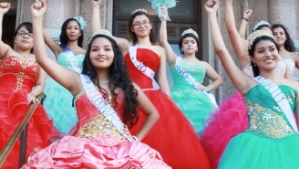 Texas Teens Don Quinceañera Dresses To Protest Sanctuary City Ban