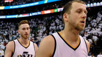 The Jazz May Have Improved Their Odds Of Keeping Gordon Hayward By Re-Signing One Of His Closest Friends