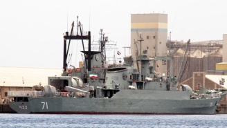 A U.S. Navy Ship Fired Warning Shots At An Iranian Vessel In The Persian Gulf