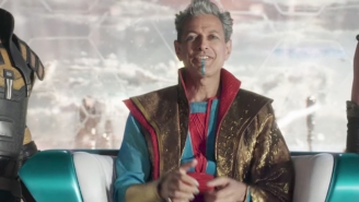 The 'Thor: Ragnarok' Poster Was Edited To Properly Represent Jeff Goldblum's Greatness