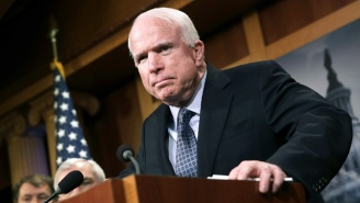 John McCain Casts A Deciding 'No' Vote To Effectively Kill The GOP's Obamacare 'Skinny Repeal' Plan