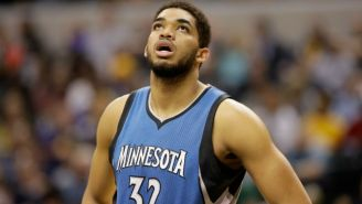 Karl-Anthony Towns Missed His First Basketball Game Since Middle School