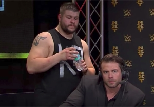 Alex Riley Talked About Being Unhappy Working As An Announcer In NXT