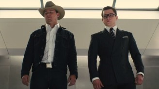 'Kingsman: The Golden Circle' Has Death Lassos And Whiskey Drones In A New R-Rated Trailer