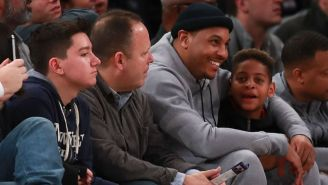 Carmelo Anthony's Son Showed His Own Hoops Skills With A Last-Second Shot In An AAU Game
