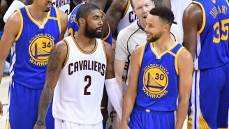 A Cavs Player Has 'No Doubt' Kyrie Irving Would Give Them A 3-0 Lead Over The Warriors