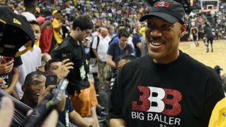Adidas Replaced A Ref In An AAU Game Because Of Some Bad Blood With LaVar Ball