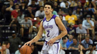 Lonzo Ball's Shoe Choice For Wednesday's Summer League Game Turned Some Heads