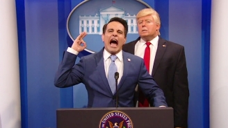 Mario Cantone Picked The Perfect Time To Premiere His Anthony Scaramucci Impression On 'The President Show'