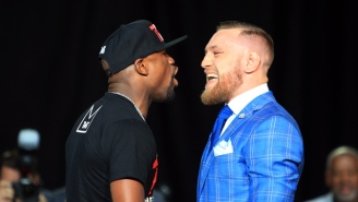 The Nevada Athletic Commission Will Vote On Smaller Glove Request For Mayweather Vs. McGregor