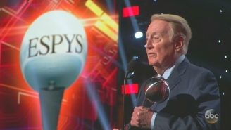 Bryan Cranston Honored Vin Scully At The ESPYs And Scully Didn't Disappoint With A Classic Speech