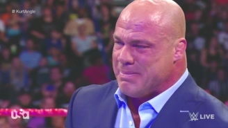 Kurt Angle Revealed His Shocking Secret On WWE Raw