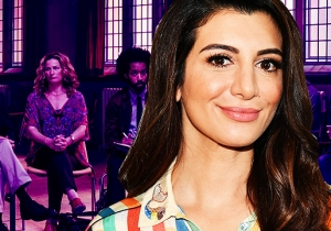'People Of Earth' Newcomer Nasim Pedrad On Getting Her Mind Blown By Larry David