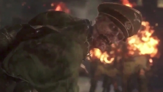 'Call Of Duty: WW2's' Nazi Zombies Reveal Trailer Has Leaked And It Looks Horrific