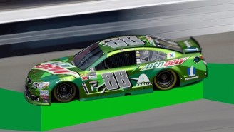 Dale Jr.'s Car For His Final Race At Talladega Will Feature The Names Of 100,000 Fans