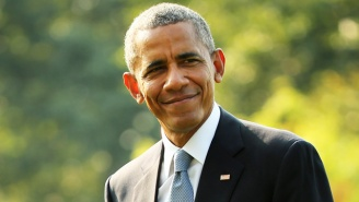 Obama Tells A Crowd That He's Related To Jefferson Davis: 'I Bet He's Spinning In His Grave'