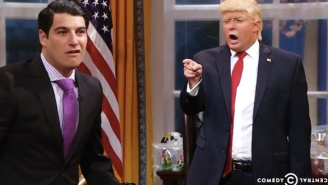 Adam Pally Brings A Bungling Donald Trump Jr. To Life On Comedy Central's 'The President Show'
