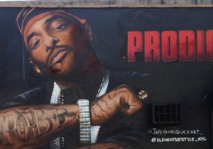 Prodigy's Mural In Queens Has Been Permanently Taken Down After Repeated Acts Of Vandalism