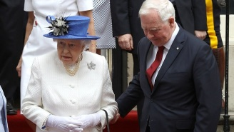 The Canadian Official Who Touched Queen Elizabeth II Is Blaming The Red Carpet