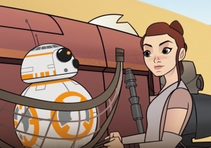 Bandits Are No Match For Rey's Cleverness In The Latest 'Star Wars' Short
