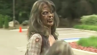 Emotional Fans Dressed Up As The Roaming Undead At George A. Romero's Memorial