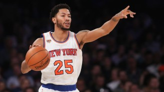 Derrick Rose Is Expected Meet With The Cavs Monday As Kyrie Irving Trade Rumors Swirl