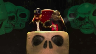 Run The Jewels' Take A Spooky Claymation Theme Park Ride In The 'Don't Get Captured' Video