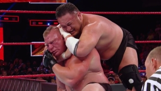 Brock Lesnar Is Reportedly 'Really Happy' With Samoa Joe Following Great Balls Of Fire