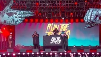 Run The Jewels Honored Chester Bennington With A Boisterous Late Night Performance