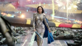 'Thor: Ragnarok's Tessa Thompson And Marvel Head Kevin Feige Discuss A Female Dream Team Movie