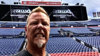 Metallica's James Hetfield Slams The Jenner Sisters For Their 'Disrespectful' Shirts