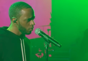 6lack Transforms The Melancholy 'Free' Into A Seductive Live Performance On 'The Late Show'