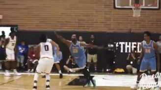 Nick Young Schooled Baron Davis With A Nasty Crossover At The Drew League