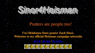 Oklahoma State's Punter Probably Isn't The Heisman Frontrunner, But He Should Be