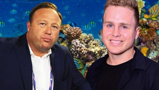 Alex Jones And Spencer Pratt Have Become Snorkeling Buddies In Hawaii