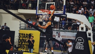 Ayesha Curry Stunned Steph With A Perfect Alley-Oop Lob At Under Armour Event In Korea