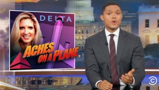 'The Daily Show' Finds A Lot Of Joy In Ann Coulter's Outrage With Delta Airlines