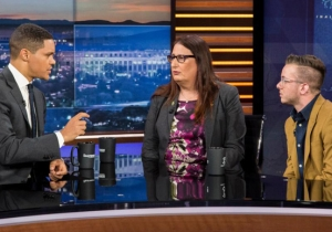 'The Daily Show' Asks Two Transgender Army Veterans To Describe The True Toll Of Trump's Military Ban