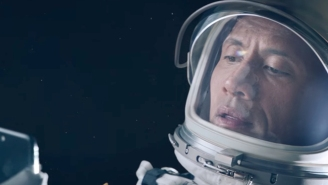 Watch The Rock Go To Space In This Epic New Apple Commercial
