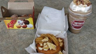 We Tasted The Poutine Donut… Which Wasn't As Gross As You'd Expect