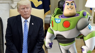 Buzz Aldrin Seems Disappointed That Donald Trump Didn't Get His Buzz Lightyear Reference