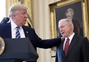 Jeff Sessions Stands By Donald Trump On The NFL Protests: 'The President Has Free Speech Rights, Too'