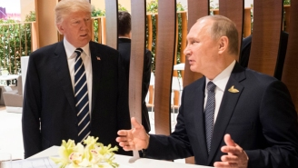 Trump Had A Secret 2nd Meeting With Putin At The G20, With Only A Russian Translator Present With Them