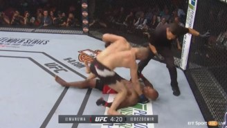 Volkan Oezdemir Steals Jimi Manuwa's Soul With A Crazy Knockout At UFC 214