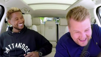 Usher And James Corden Spend Most Of Their 'Carpool Karaoke' Doing Good Deeds Around Los Angeles