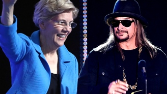 Elizabeth Warren Lays Out The Case For Taking Kid Rock's Senate Run Seriously