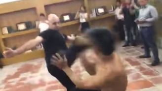 A Chinese Karate Black Belt And A Canadian Wing Chun Artist's Fight To Determine The Best Style Ends In A KO