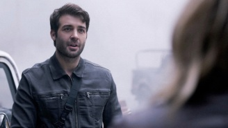 This Week On CBS's 'Zoo': They Threw A Car Into A Volcano!